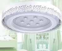 Led ceiling light circle bedroom lights led crystal lamp iron lamp cutout decorative pattern