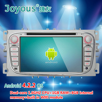 Android 4.2.2 Car DVD Player for Ford Focus 2008-2010 with GPS Navigation Navigator Radio BT TV USB AUX DVR 3G WIFI Audio Stereo