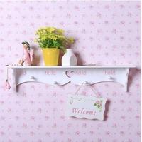 Rack Stands Simple modern wall shelf shelving rack hollow partition wall pierced coat rack shelf home decor free shipping