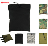 7 colors 1000D Gear Compact Outdoor Military Airsoft Molle Tactical Magazine DUMP Drop Pouch with Molle Belt For Hunting Bag