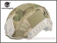 High Quality Emerson Fast Jump Helmet Cover Mich IBH Helmet Cover A-TACS FG