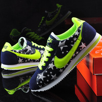 LD003 Free Shipping 2014 New Running High quality Men& Women Sport Shoes 6 Colors Glow in Dark Brand Running Shoes Size 39-44