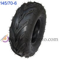 145/70-6 ATV Tire for small bull 6inch wheel tyre 50cc 70cc 110cc  use