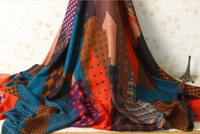 High quality womens cotton scarf fashionable print desigual warm winter scarf women big pashmina shawl wrap scarves