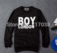 fashion 2014 Hot European style New Men's Long sleeve autumn/winter printing Sweatshirts Male Round collar Thick cotton Sweater