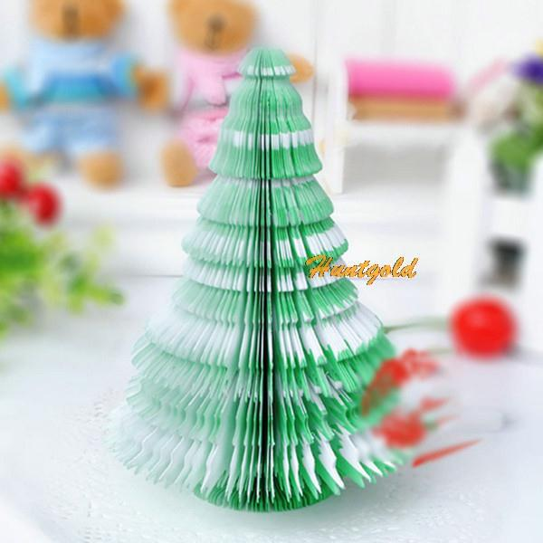 New Office Home Christmas Tree Note Pad Paper Scratchpad memo scrap paper Gift(China (Mainland))