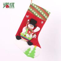 Snowman Christmas Gift Bag, Christmas tree decoration sock (25x45cm, free shipping)