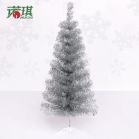 Mini Desktop 90cm Silver Christmas Tree, free shipping
