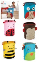 Free Shipping Storage Bags Toy Boxes Foldable Storage Boxes Organic Storage Bins kids Animal Bin Home Storage Organization 5pcs
