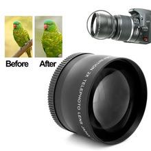 Camera Lens for Canon 350D / 400D / 450D / 500D / 1000D / 550D / 600D / 1100D 2X 58mm Professional Telephoto Lens