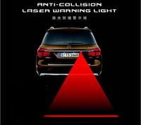 Free Shipping LED Anti-Collision laser warning light Waterproof laser-fog anti-fog rain after car rear-end laser laser anti-fog