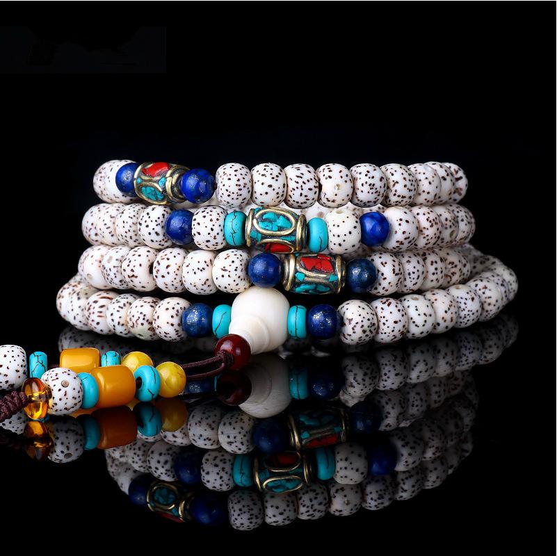 Xingyue Pu Tizi Hand chain Bodhi Sub-108 beads Bracelets couple(China (Mainland))
