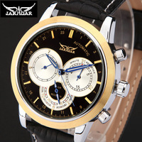 Men military army sports steam punk wirstwatches automatic Mechanical Watch for men Watches leather strap Relogio Masculino
