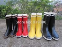 Lovers Rainboots Women Mens Fashion Rubber Waterproof Rain Boots Multi Colors Flat Heels Short Water Shoes Factory Price #TS182