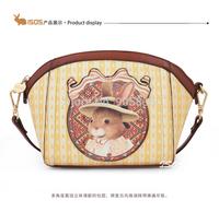 2014 New arrival cute rabbit print mini-messenger bag  with Zipper mini Single-shoulder bag lolita style  Free shipping