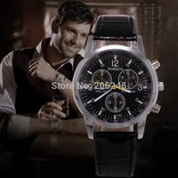 Fashion Luxury Brand Male Clock Leather Strap Watch Men Quartz Sport Wristwatch Military Watches Mens relogio