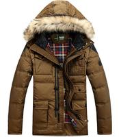 Free shipping men winter down coat ,Men's Down Jackets Warm Wadded Men Winter Coat Outwear 220