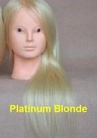 65% Human hair,25% animal hair,10% High temperature wire Human Hair Training Head Mannequin