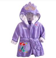 1 pcs/lot, Winter Autumn Children's Pajamas  robe kids Micky minnie mouse Bathrobes Baby homewear Boys girls Cartoon,BH-001