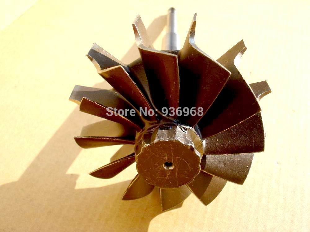 HX40 Turbo parts Turbine shaft and wheel size 64mm 76mm for turbo replacement AAA Turbocharger Parts