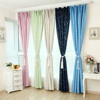 Upscale blackout curtains thick sheer curtain for living room custom