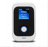 Portable Unlocked ZTE MF91 100Mbps 4G LTE FDD 1800/2600MHz Wireless Router 3G HSPA+ WCDMA SIM Card Pocket WIFI Mobile Hotspot