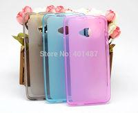 802W Cases, Soft TPU Back Case Cover Protective Shield For HTC 802D 802W 802T, Anti Fingerprint Case