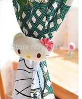 2015 new hello kitty cartoon  tie back curtain belt hooks drapery clips curtain  tieback accessory home decoration 4pcs/lot