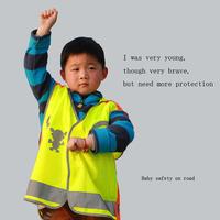 360-degree reflective  vest  size L 53X56cm clothing for children traffic safety vest reflective vests pupils baby safety  road