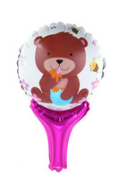 Honey Bear hand holder bang sticks noise maker (cannot float) Inflation Toys 60pcs