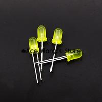 Free shipping 1000pcs 5MM Yellow LED light emitting diode F5mm Yellow LED Round