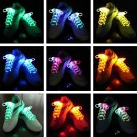 Olive shaped led flash shoelace luminous gift led shoelace
