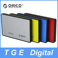 "ORICO 2588US3 Portable 2.5"" Inch USB3.0 SATA Hard Drive HDD External Enclosure Adapter Case Tool Free"