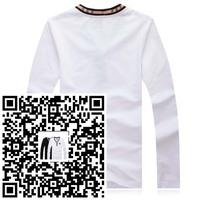 long Sleeve Men's T Shirt 2015 slim fit brand shirts for men designer shirts boy london shirt Men Clothing Large in stock