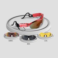 Smart bluetooth earphones sun glasses stereo sound mobile phone general radio earphones sports earphones 01