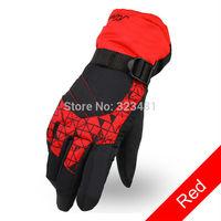 Outdoor sport winter Gloves women warm waterproof ski gloves for girls below zero cycling motorcycle gloves windstopper