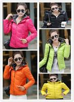 Winter Jacket Women Fashion Casual Slim Hooded Plus Size Short Style Parka Down Cotton Coat Parkas For Ladies
