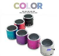 New 2014 USB Portable Mini Stereo Speaker Wireless MP3 Player Computer Amplifier FM Radio USB Micro