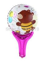 Happy Bear hand holder bang sticks noise maker (cannot float) Inflation Toys 60pcs