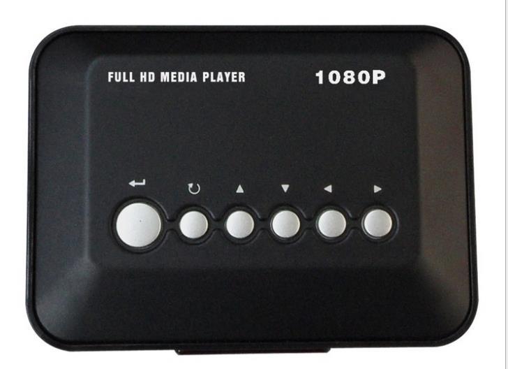 multimedia hdd media video player 1080p hdmi trade HD player portable media player MKV RMVB(China (Mainland))