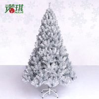 Free shipping 150cm Outdoor Hotel and Plaza Silver Luxury Christmas tree