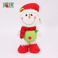 30cm Snowman Doll Christmas Fabric Plush Toys Pendant