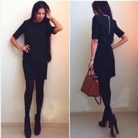 autumn and winter pencil dress work wear dresses for women fashion women 2014