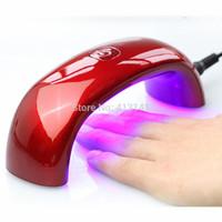 New 9W LED UV Lamp for Curing Nail Dryer for UV Gel and Nail Polish Led Nail Light Nail Tools