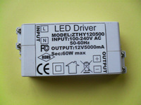 100 to 240V, DC12V 5A 60W led driver for indoor led strips for 3528/5050 LED strips,475PCS/Lot Free Shipping