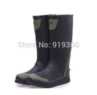 Free Shipping Fashion Men Male Rubber Rain Boots Anti-slip Waterproof Water Shoes Flat Heels Tall Rainboots Factory Price#TS187