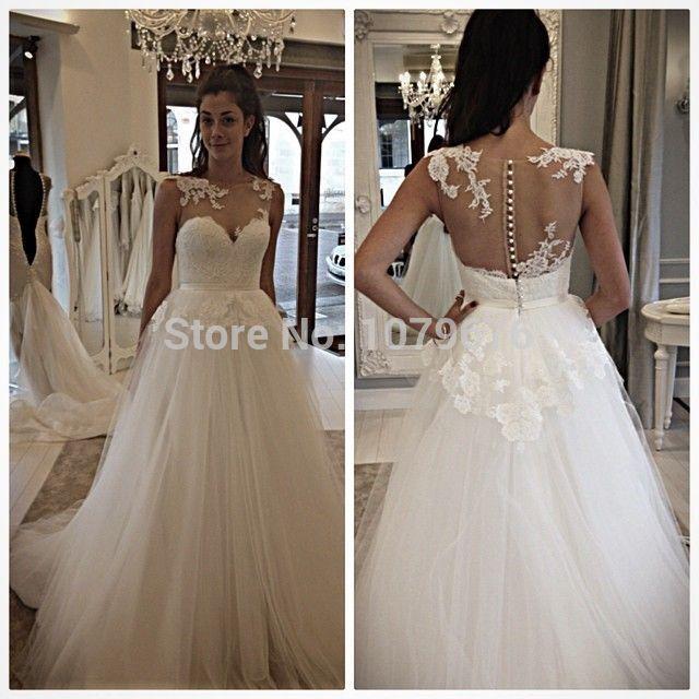 Popular Boat Neck Wedding Dresses