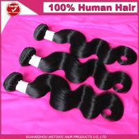 new star hair products 4pcs lot Peruvian Virgin Hair 100% peruvian body wave human hair extension weave free shipping