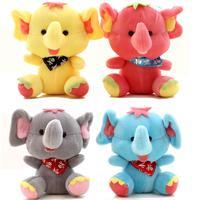 18cm Plush toys Stuffed  Cute elephant doll Kid's Toy Christmas gift