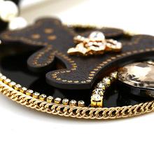 Tour Oso Collares Mujer Bisuteria Gargantillas Colgantes Collier Femme Bijoux Sautoir Pendentif Colares Longos Pentagram